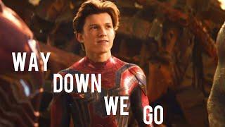 Way Down We Go || Peter Parker
