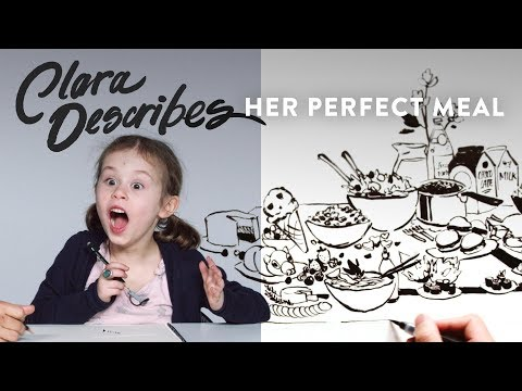 Clara's Favorite Meal | Kids Describe | HiHo Kids