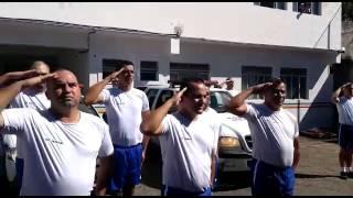 Homenagem em Itaúna ao cabo da Polícia Militar Marcos Marques da Silva