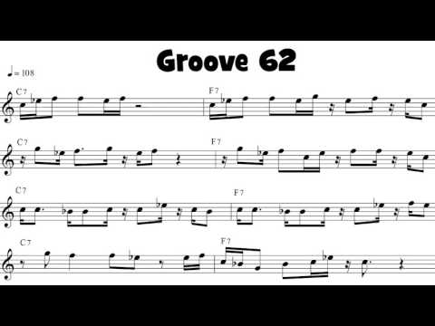 Funk Flute Riff of the Day from the book 100 Ultimate Soul, Funk and R&B Grooves for Flute