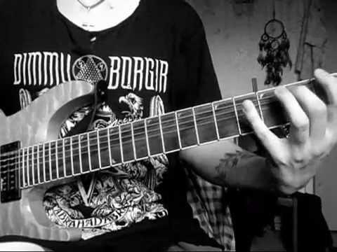 Meshuggah - Demiurge (Guitar cover) 7-string