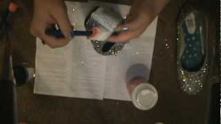 DIY Glitter Shoes | HairandMakeup87 Thumbnail