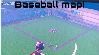 New fortnite creative baseball field map code.......