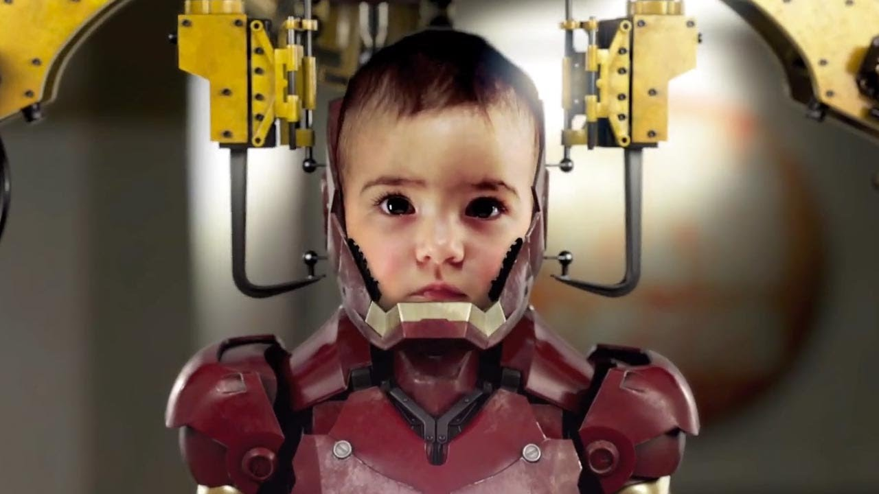 Avengers Animated Wallpaper An Iron Man Baby A Real Life Animated Series Batmobile