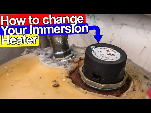 HOW TO CHANGE IMMERSION HEATER STEP BY STEP - Plumbing Tips