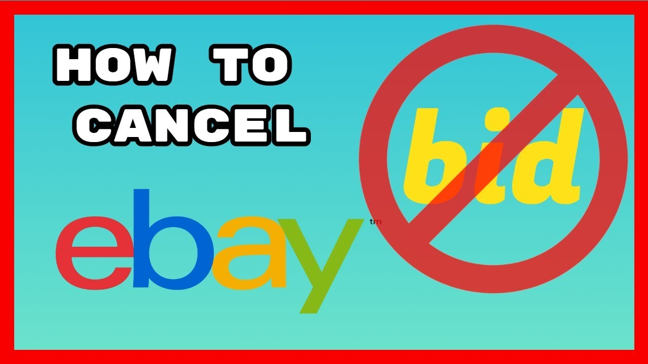 How To Quickly Cancel Or Retract A Bid On Ebay Youtube