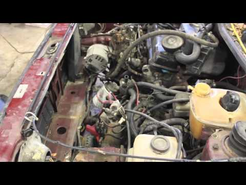 MK1 Rabbit Pickup (Caddy) Diesel Engine Removal for AAZ Swap. Video 1 of the series