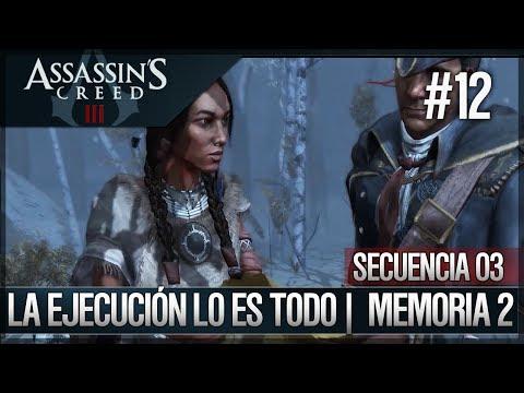 Assassin's Creed 3 - Walkthrough Español - Secuencia ADN 3 - La ejecución lo es todo [2] [100%]
