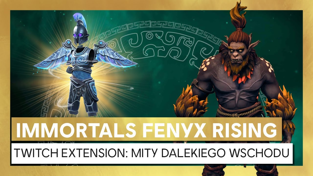 Immortals Fenyx Rising - Montser Hunt Twitch Extension: mity Dalekiego Wschodu