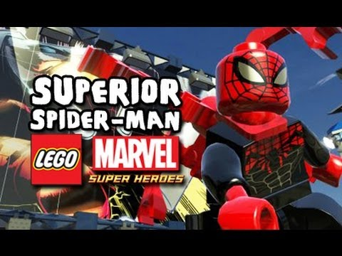 Aninimal Book: LEGO Marvel Super Heroes Superior Spider-Man Unlock - YouTube