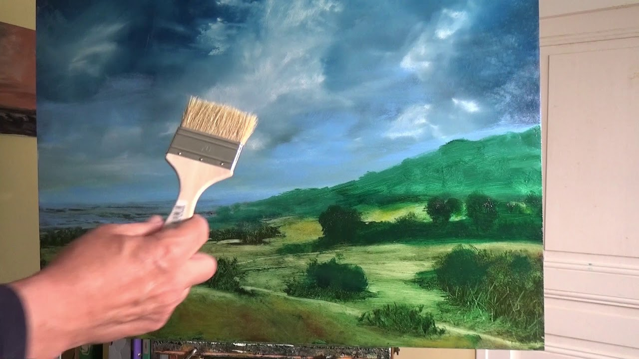 Easy Oil Painting Tips - Landscapes and Skies