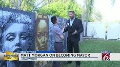 Matt Morgan named Longwood Mayor