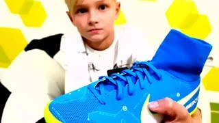 ⚽ КУПИЛ Детские сороконожки НАЙК Mercurial Victory VI Neymar ⚽ I BUY FOOTBALL BOOTS  Nike Mercurial