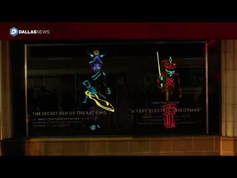 Watch: Neiman Marcus windows delight downtown Dallas passersby