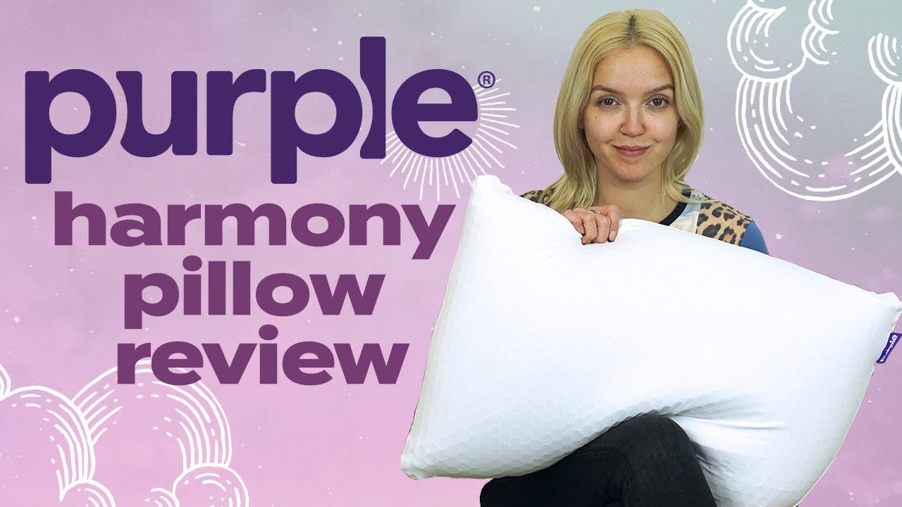 purple harmony pillow unboxing review