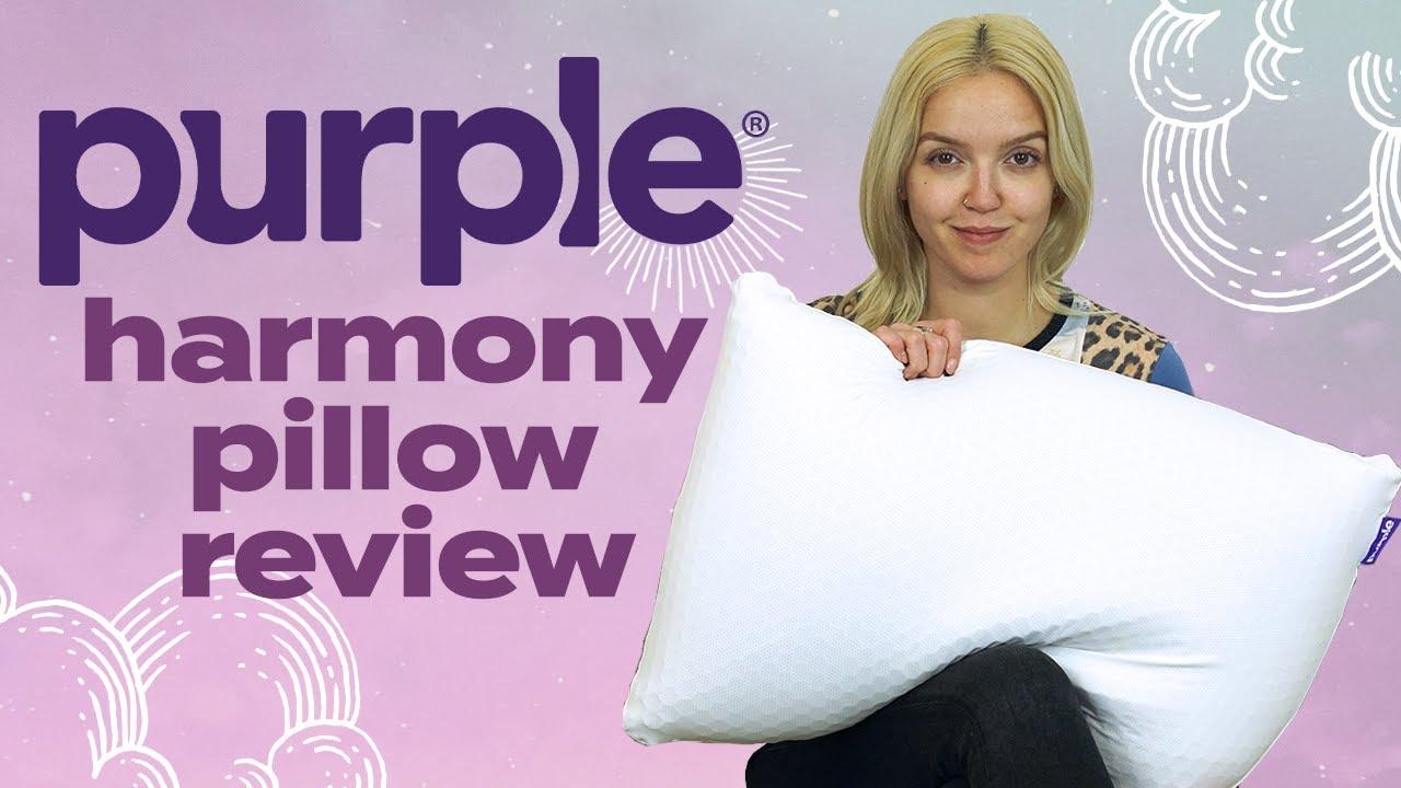purple harmony pillow review