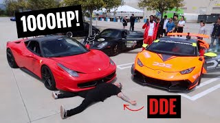 TWIN TURBO'ING MY FERRARI 458?!?!
