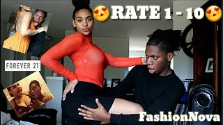 Boyfriend Rates My Outfits From 1-10 😍 Ft. Forever 21, Fashion Nova
