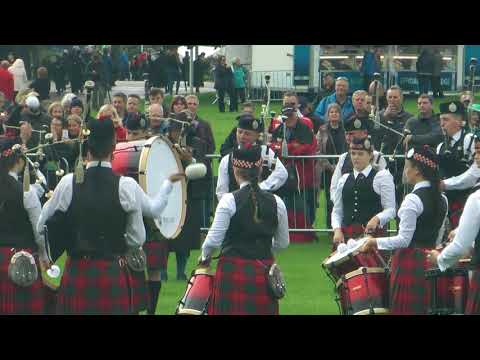 World Pipe Band Championships 2017 - Juvenile (4 of 8) Dollar Academy