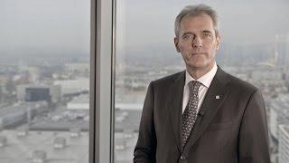 OMV Generaldirektor Rainer Seele präsentiert die neue Strategie