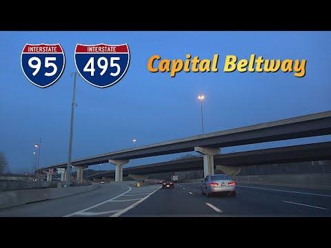 I-495 (Capital Beltway) - Bethesda To Alexandria