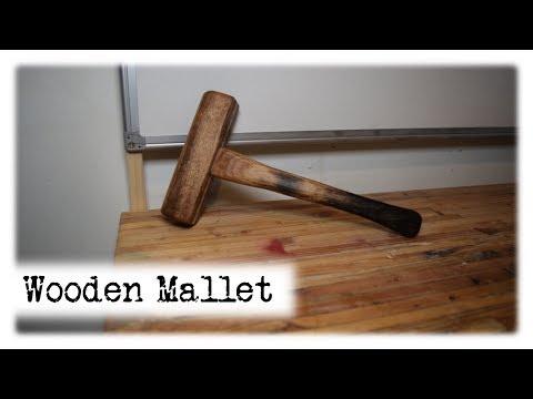 Wooden Mallet    DIY    Workshop Essentials