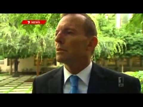 Really Awkward - Australian PM Tony Abbott