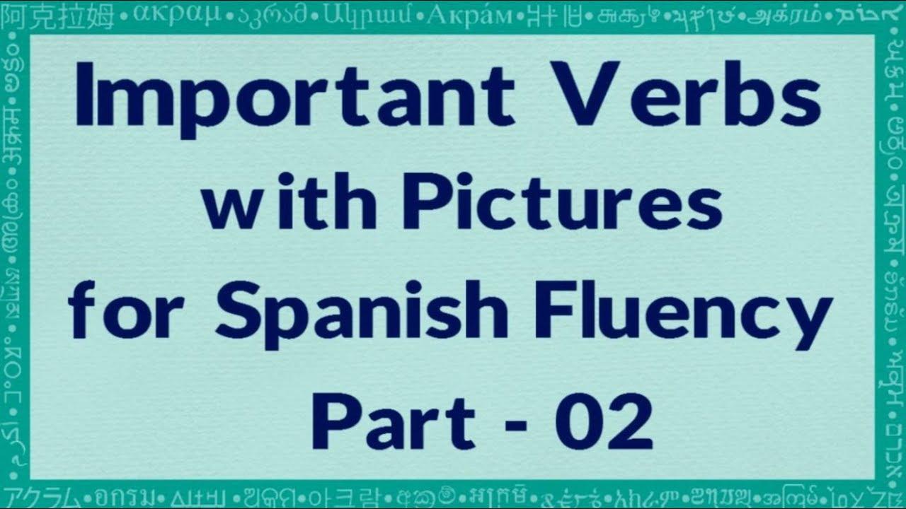 imperative verbs spanish board - 1280×720