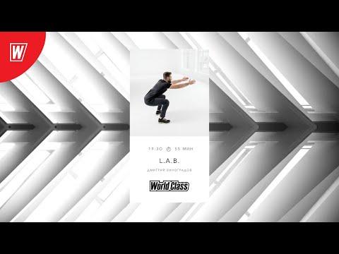 L.A.B. с Дмитрием Виноградовым | 23 сентября 2020 | Онлайн-тренировки World Class