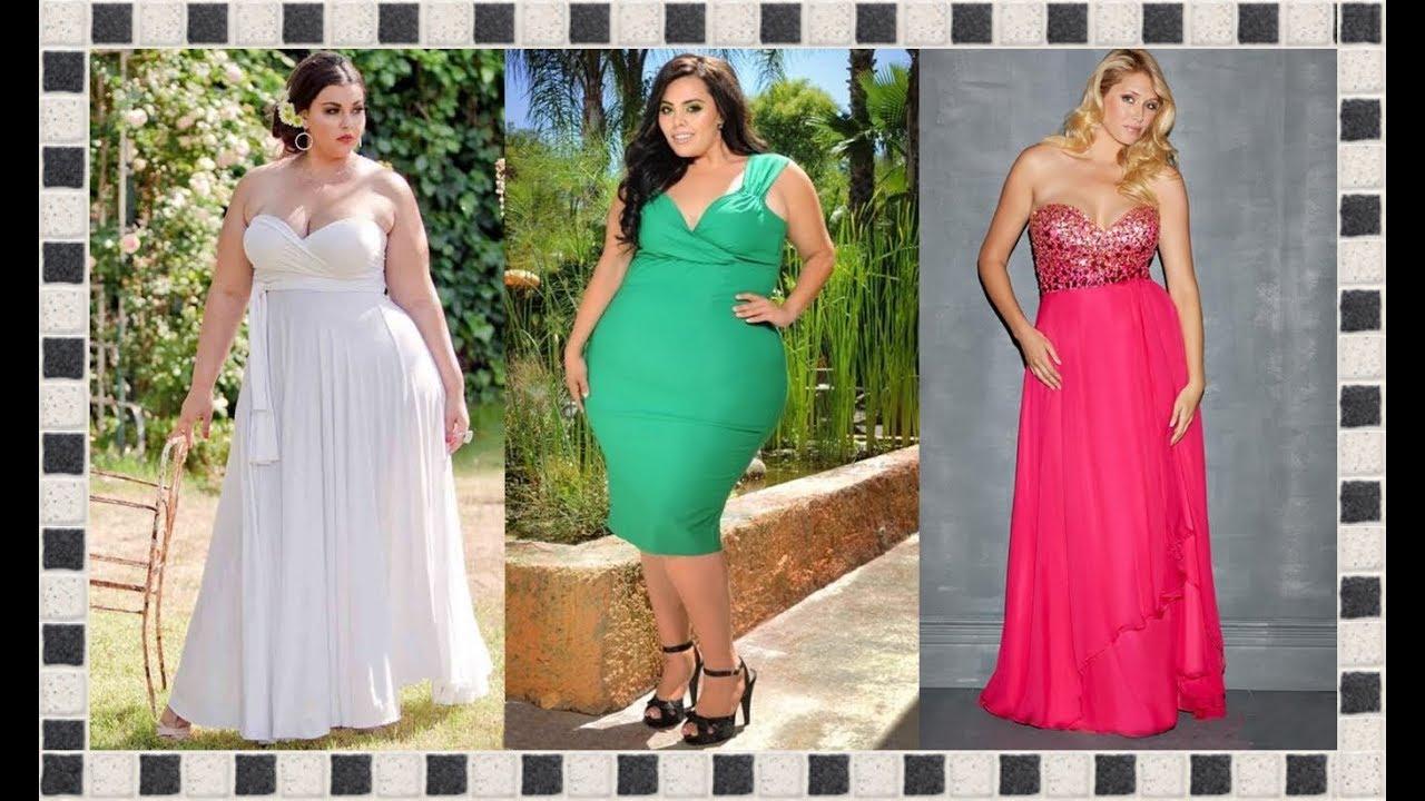 11486903aa LOS MEJORES VESTIDOS DE MODA PARA GORDITAS 2019. Moda para Chicas