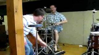 Earl Talbot Playing African Rhythms on Drum Set in 9/8 a.mp4