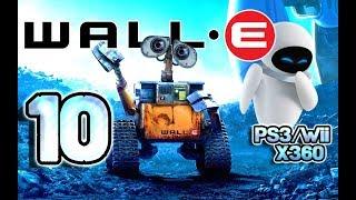 Wall-E Walkthrough Part 10 (PS3, X360, Wii) Level 9 ~ Eve Loves Wall-E [ENDING]