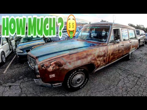 Oklahoma Auto Exchange Dealer Only Auction Walk Around + Prices 8-14-19