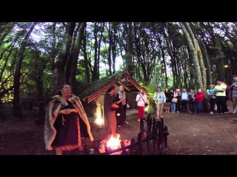 Maori Cultural Evening -  Tamaki Tours, New Zealand. GoPro Hero3+