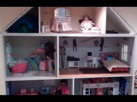 amazing american girl doll house updated tour youtube