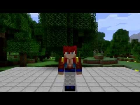 Super Saiyan Gogeta Minecraft Skin Spotlight YouTube - Skins para minecraft pe broly