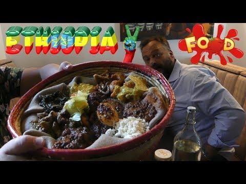 ETHIOPIAN FOOD REVIEW WITH FRIEND ALEX