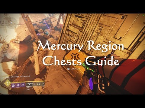 Destiny 2 Mercury Region Chests Guide