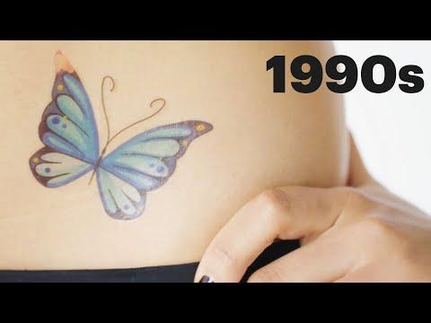 100 Years of Tattoos   Allure - Познавательные и прикольные видеоролики