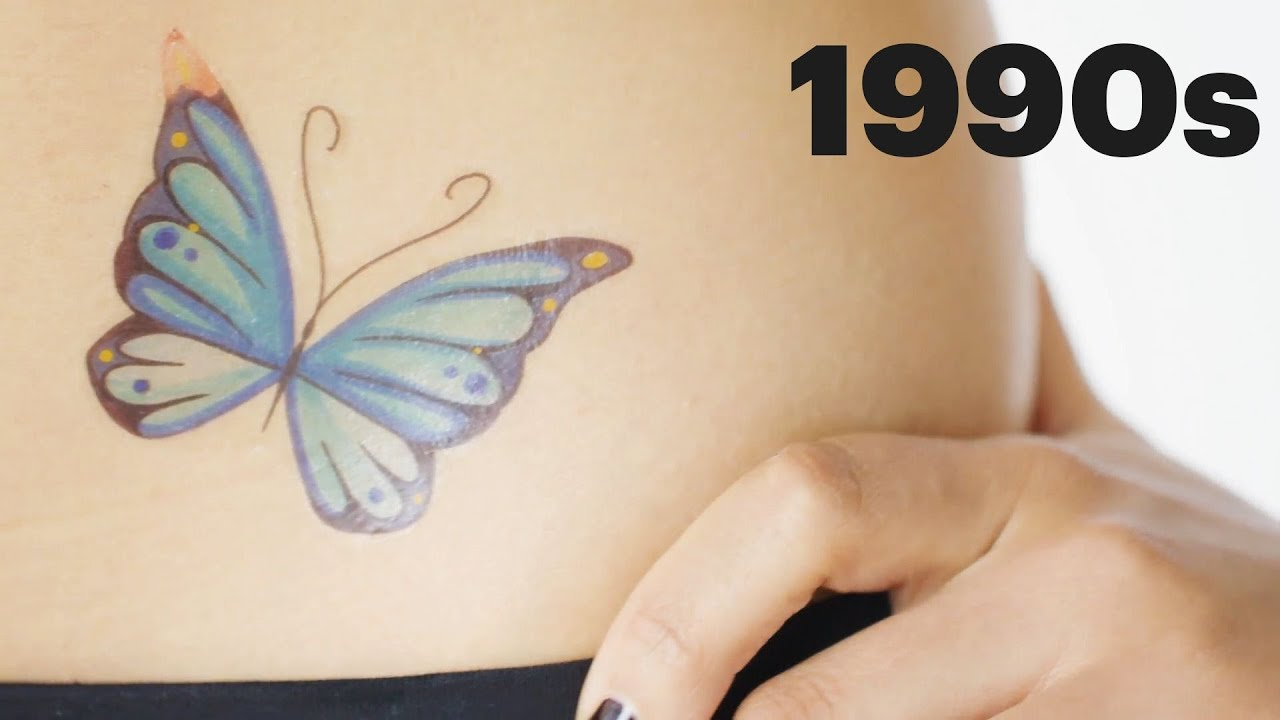 c320fe019 100 Years of Tattoos | Allure - YouTube