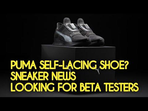 puma self lacing shoes beta testing