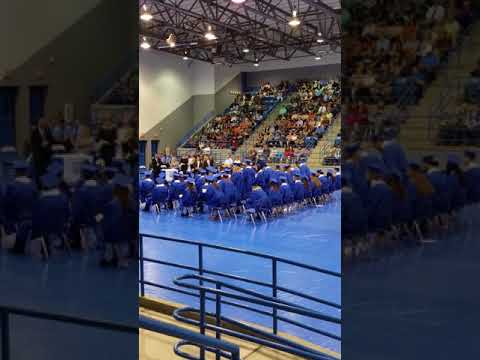 Childress High School Graduation 2018 part 2 of 3