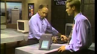 Gambar cover Presentation of Apple Newton • The computer chronicles