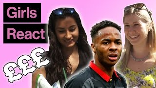 Girls React To Raheem Sterling's Liverpool Wage Demands