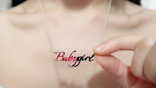 My Boyfriend Calls Me Baby Girl ^^  | My Special Meaning Jewelries