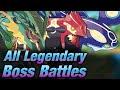 Pokemon Super Mystery Dungeon - All Legendary Pokemon Boss Battles (Postgame)