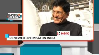 Coal & Power Minister Piyush Goyal To ET NOW @ World Economic Forum Meet In Davos