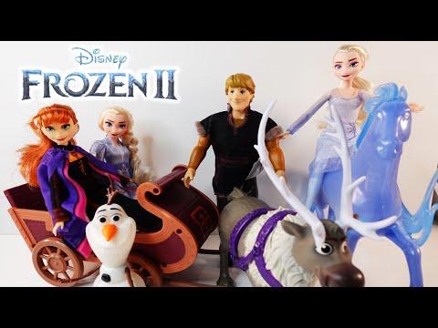 Disney Frozen 2 Sledding Adventure and Nokk Fashion Doll Sets