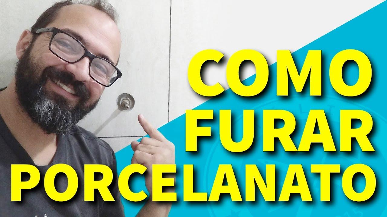 COMO FURAR PORCELANATO - FAMÍLIA DIY