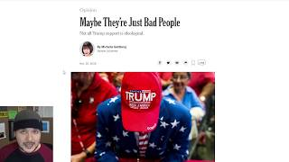 NYT: Trump Supporters Are Bad People